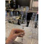 Lot de 15 flutes champagne (F)
