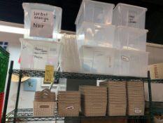 Gros Lot de bacs plastiques + items variés