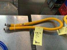"""Boyau gaz jaune 1/2 """""""