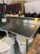 Table vaisselle # TLC 72 x 30 - monture Droite - NEUVE