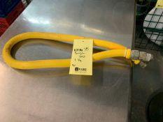 """Boyau gaz jaune 1 1/2 """""""