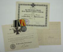 Baden: Nachlass eines Offizier-Stellvertreter der 1. Garnison-Batt. Fußartillerie-Regiment Nr. 14.