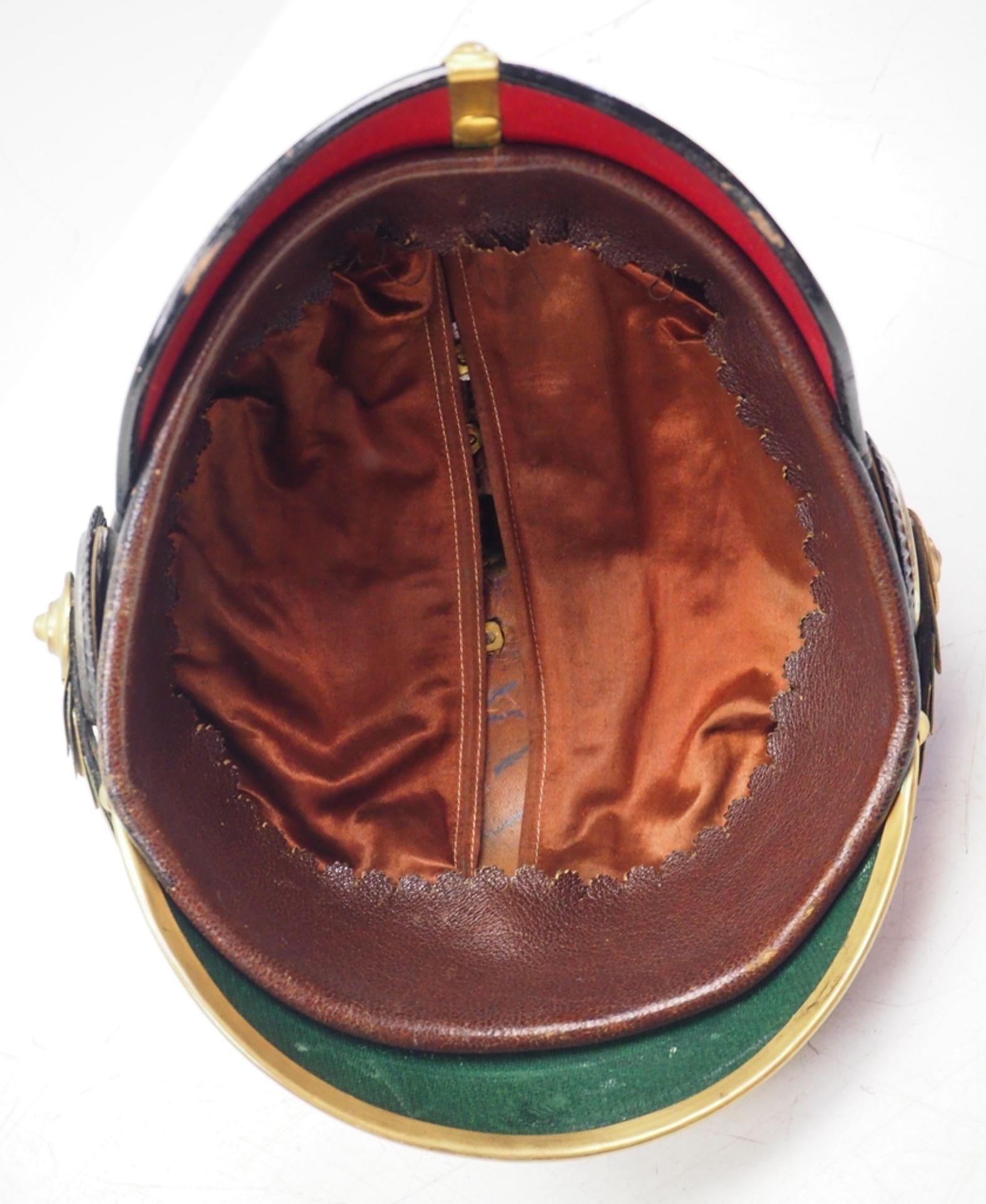 Preussen: Helm für Offiziere der Garde-Grenadier-Regimenter, in Dienstausführun - Bild 5 aus 5