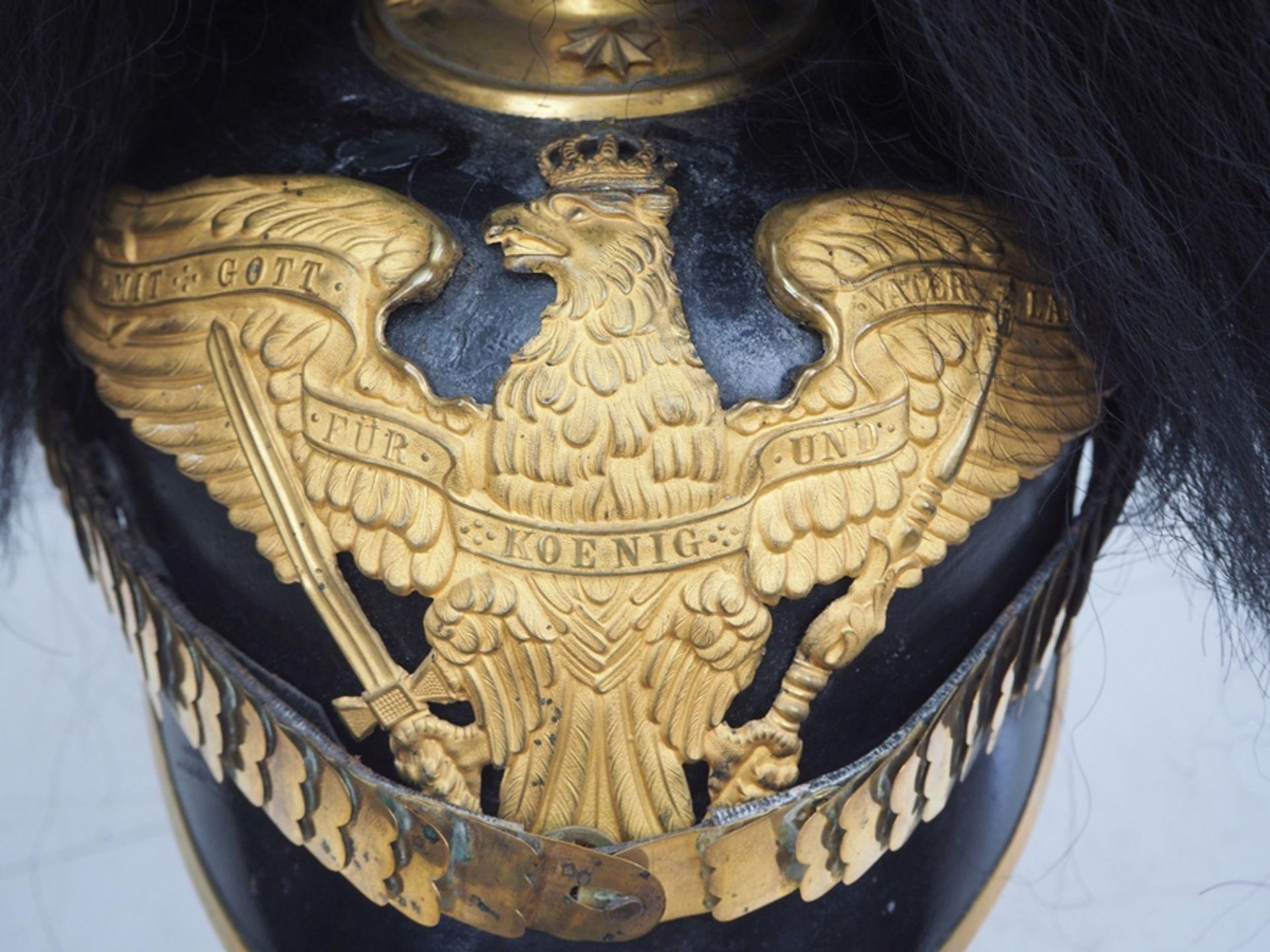 Preussen: Grenadier-Regiment König Friedrich Wilhelm IV. (1. Pomm.) Nr. 2, Helm - Bild 2 aus 5