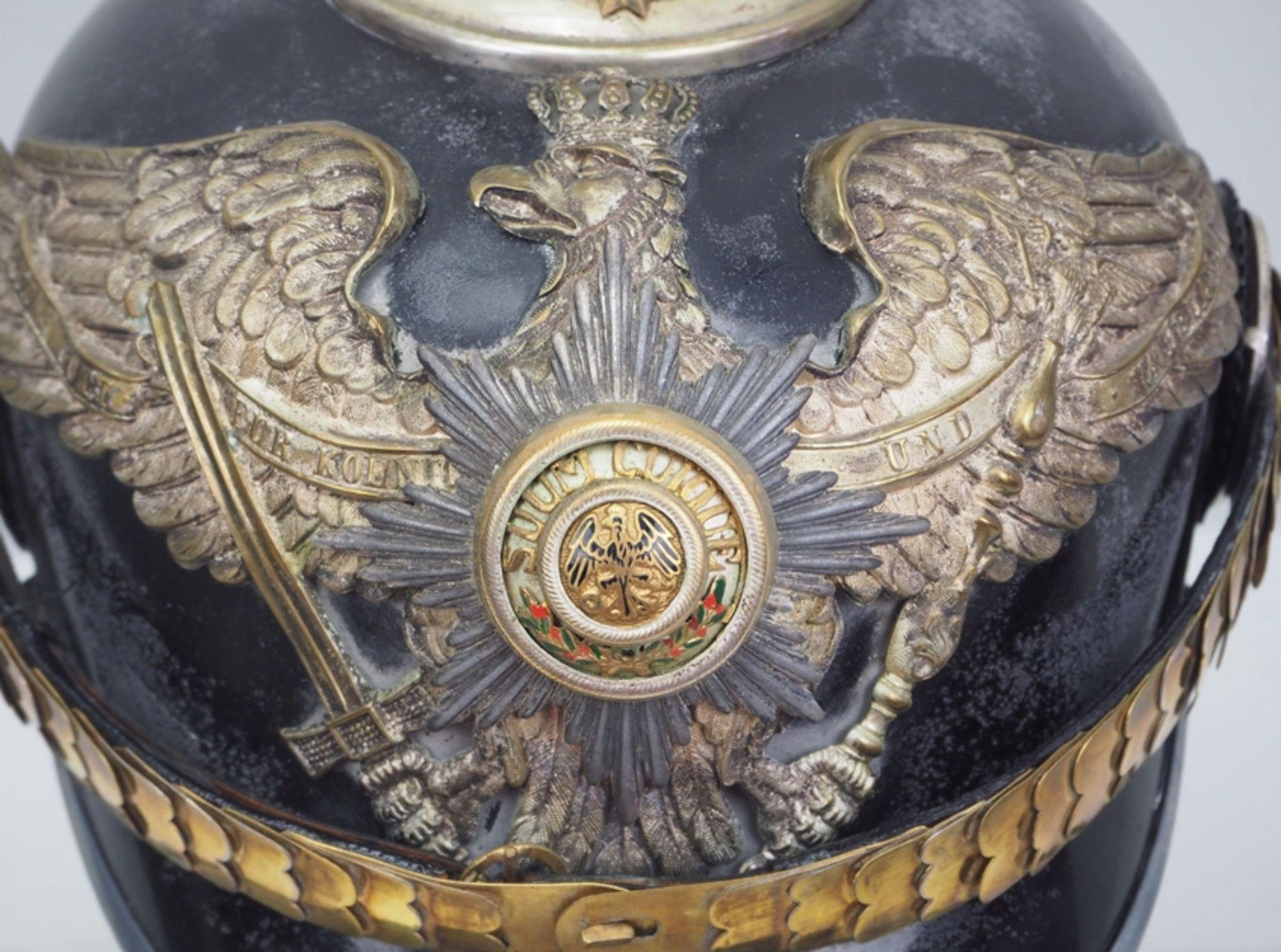 Preussen: Garde-Füsilier-Regiment, Helm für Offiziere. - Bild 2 aus 5
