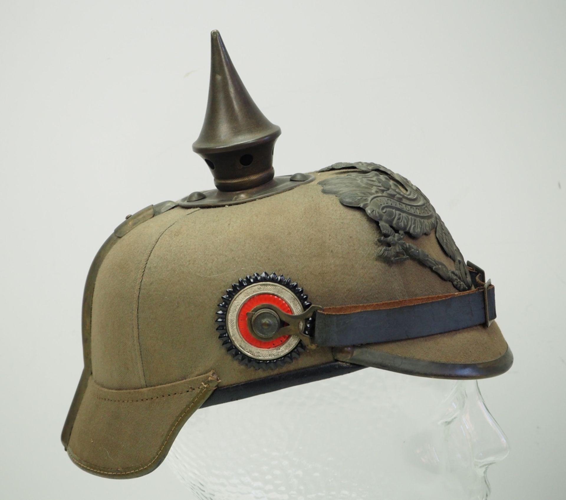 Preussen: Helm für Mannschaften der Infanterie-Regimenter - Ersatzmaterial. - Bild 3 aus 6