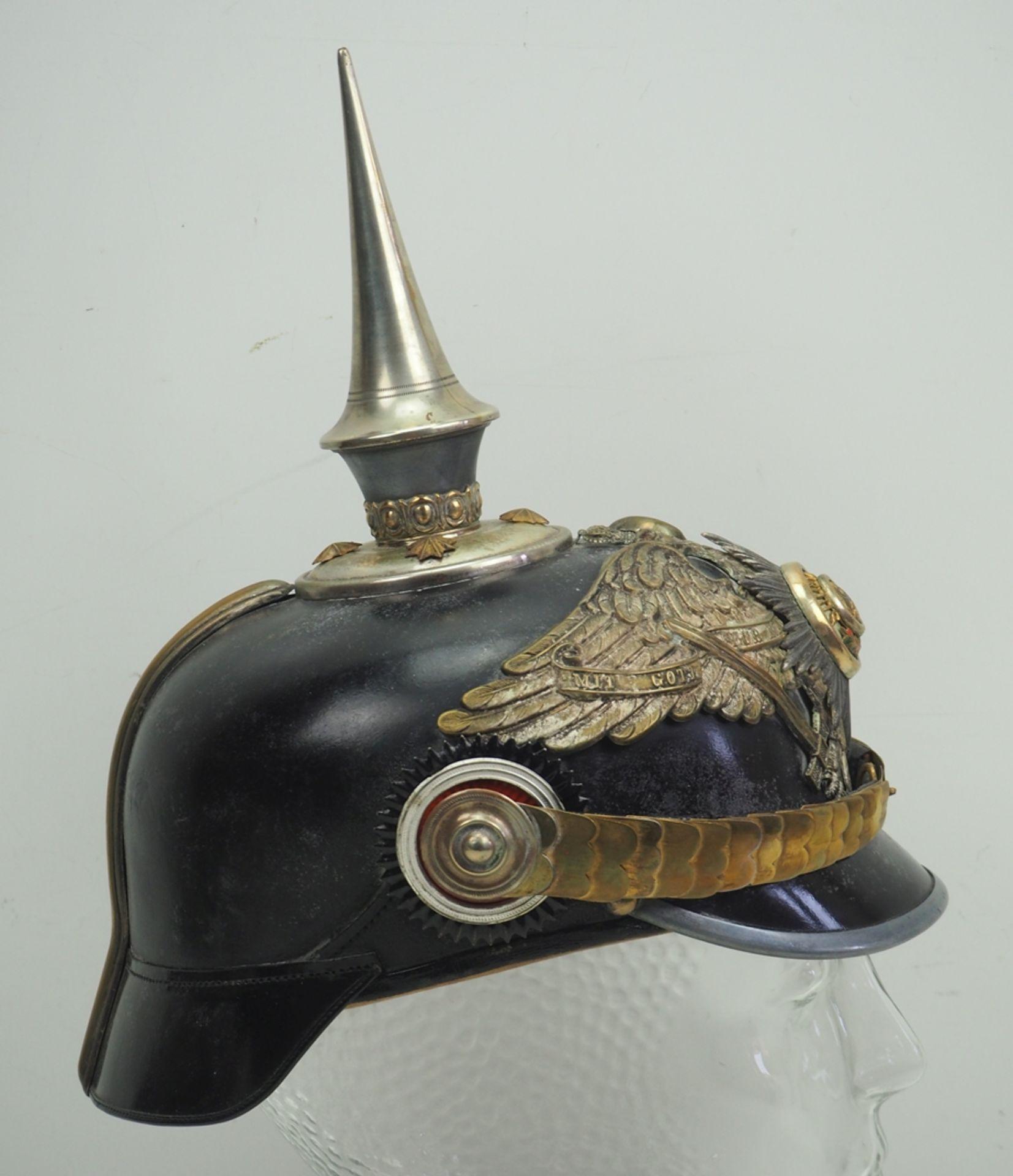 Preussen: Garde-Füsilier-Regiment, Helm für Offiziere. - Bild 3 aus 5