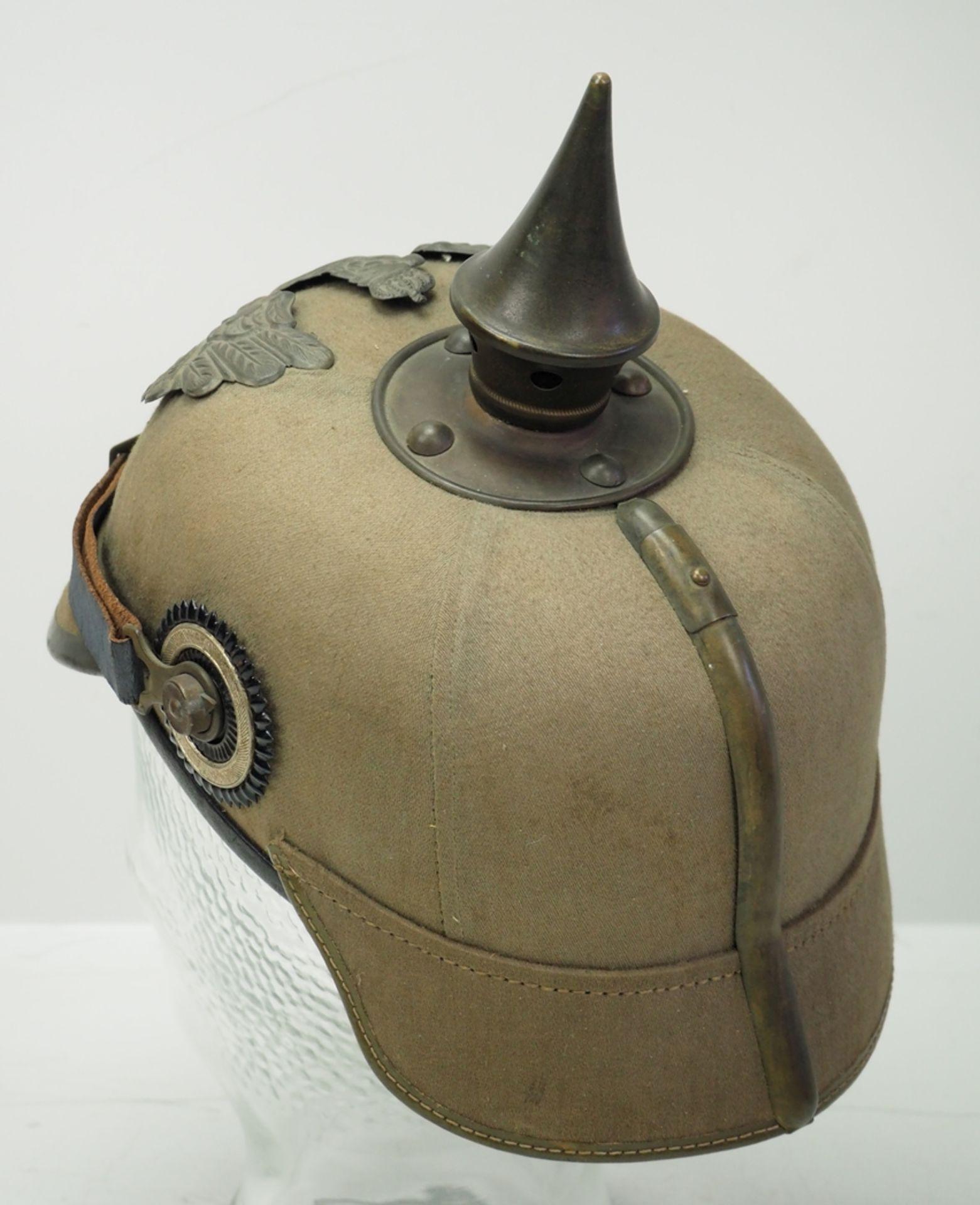 Preussen: Helm für Mannschaften der Infanterie-Regimenter - Ersatzmaterial. - Bild 4 aus 6