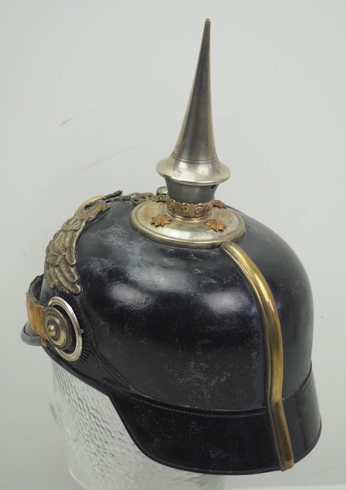 Preussen: Garde-Füsilier-Regiment, Helm für Offiziere. - Bild 4 aus 5