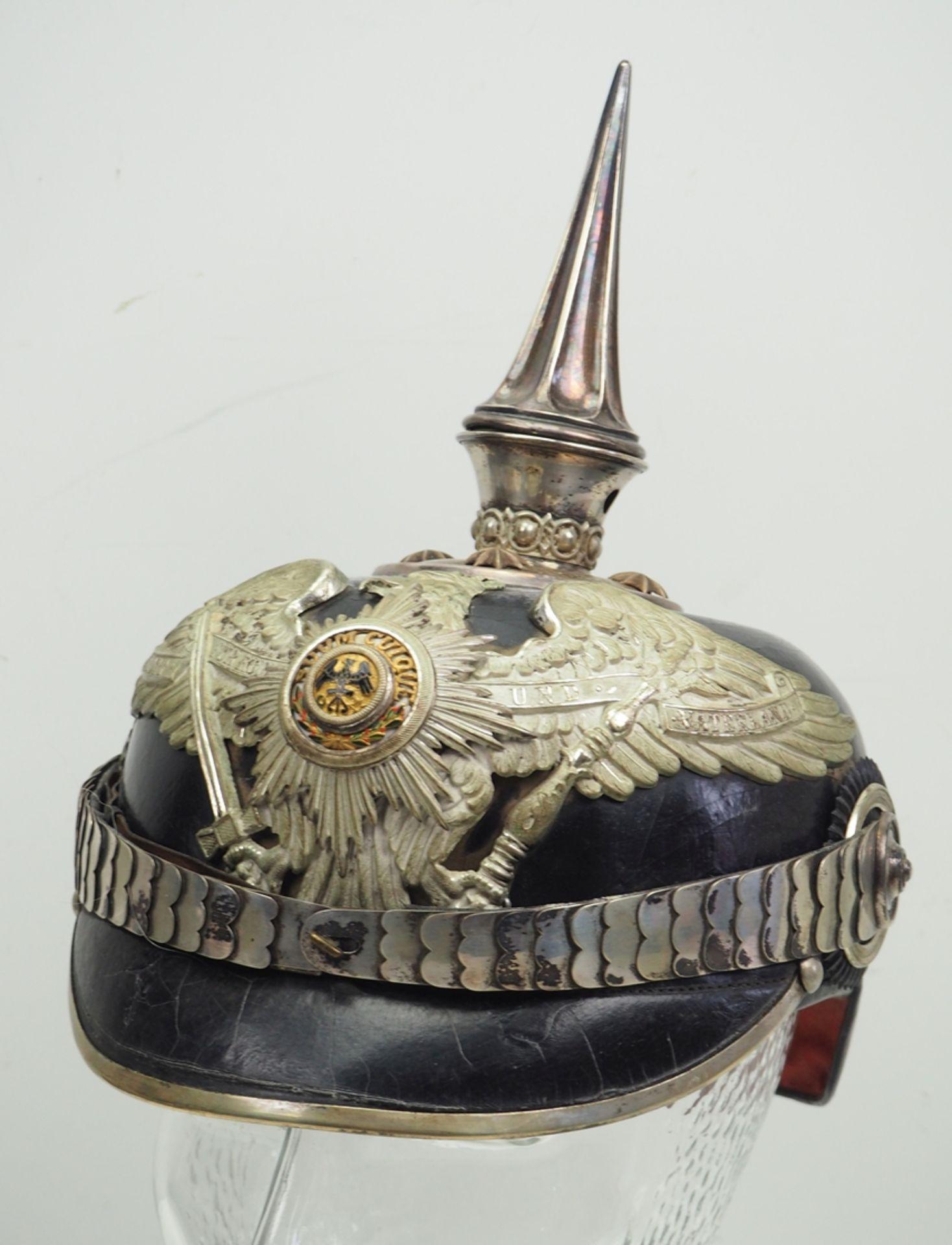 Preussen: Garde-Regiment zu Fuß, Helm für Offiziere.