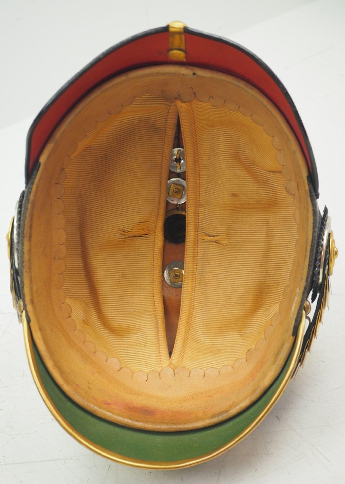 Preussen: Helm für Offiziere der Grenadiere-Regimenter Nr. 2, 3, 8-12, in Diens - Bild 5 aus 5