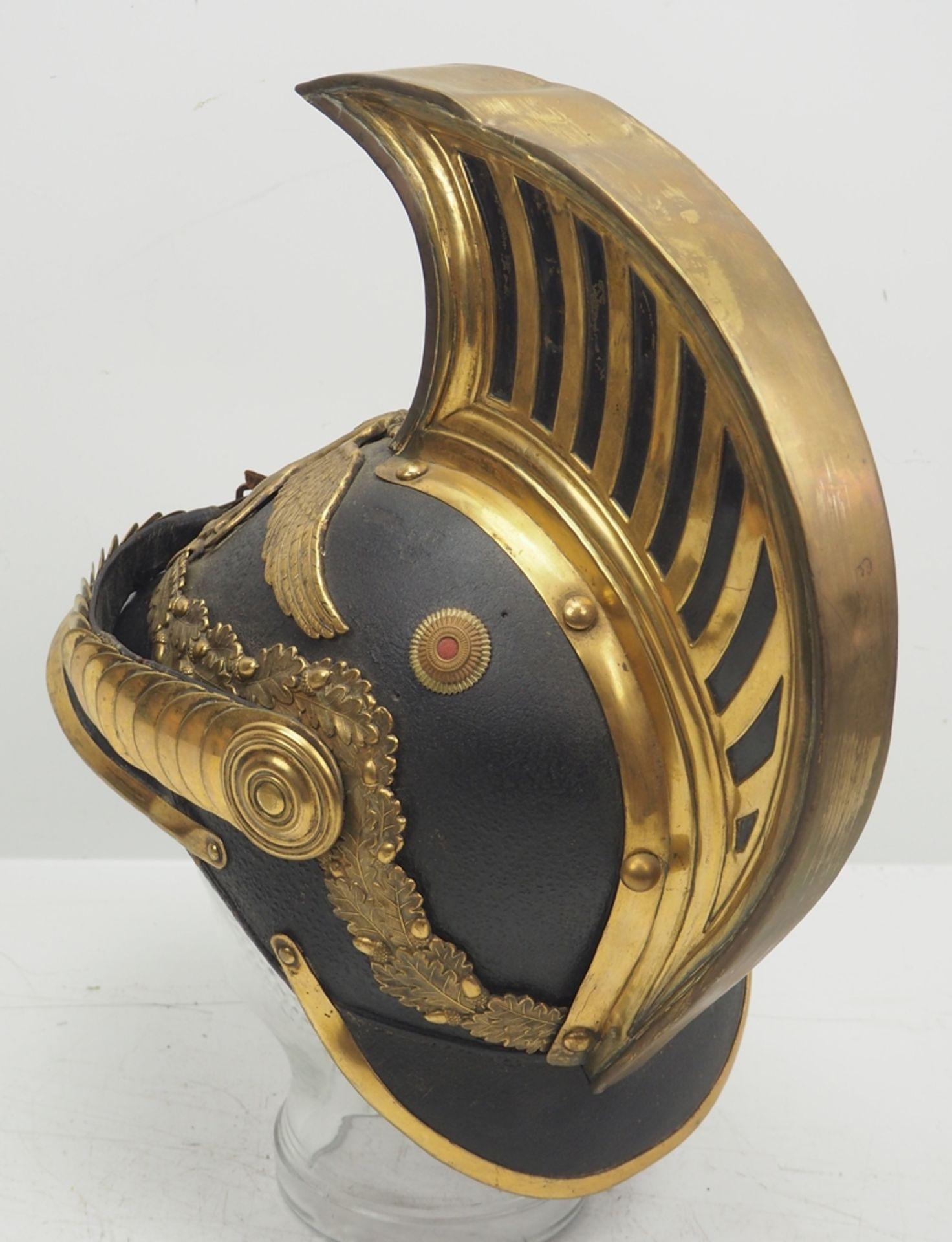 Baden: Helm für Dragoner-Offiziere Modell 1849. - Bild 4 aus 5