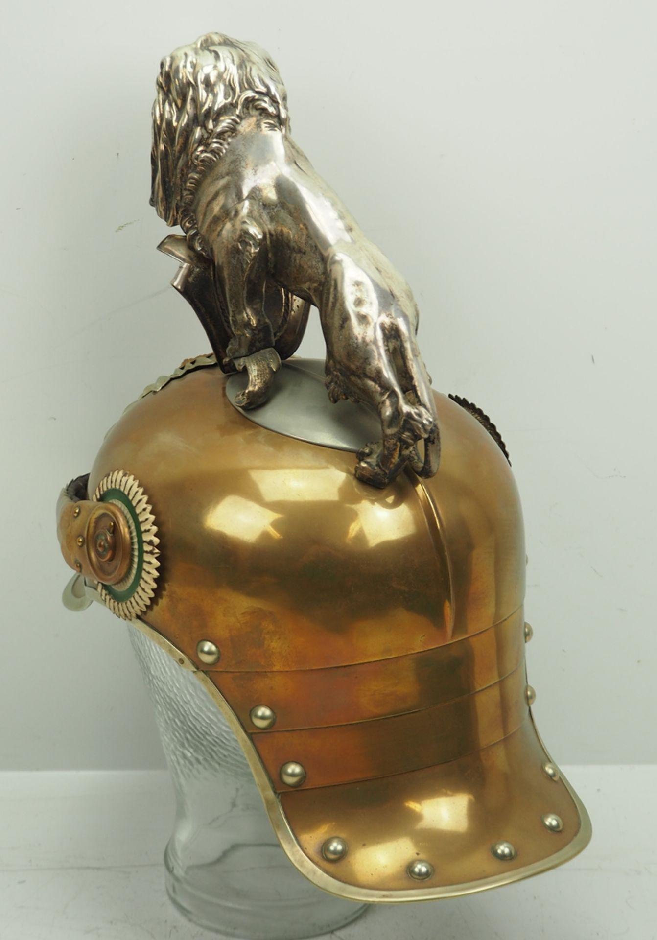 Sachsen: Königlich Sächsisches Garde-Reiter-Regiment, Helm für Mannschaften mit - Bild 6 aus 11