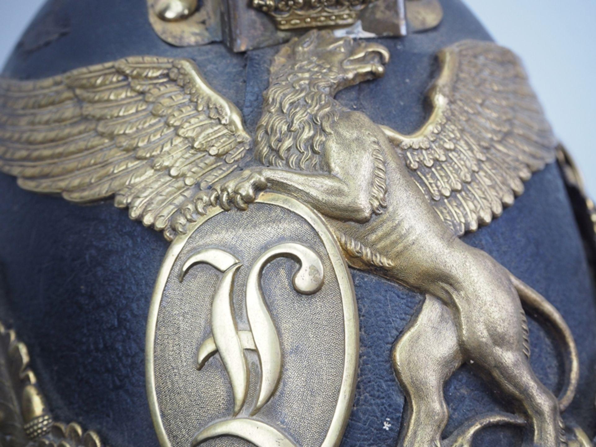 Baden: Helm für Dragoner-Offiziere Modell 1849. - Bild 2 aus 5