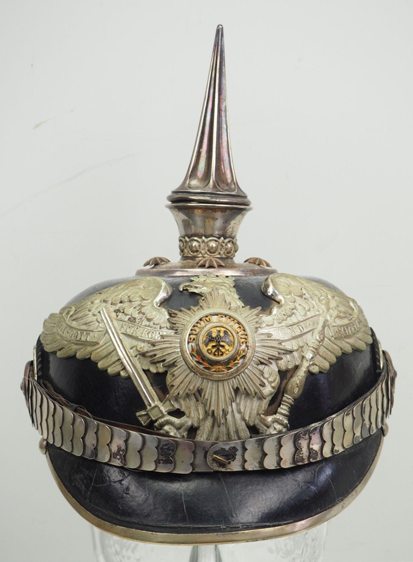 Preussen: Garde-Regiment zu Fuß, Helm für Offiziere. - Bild 2 aus 6