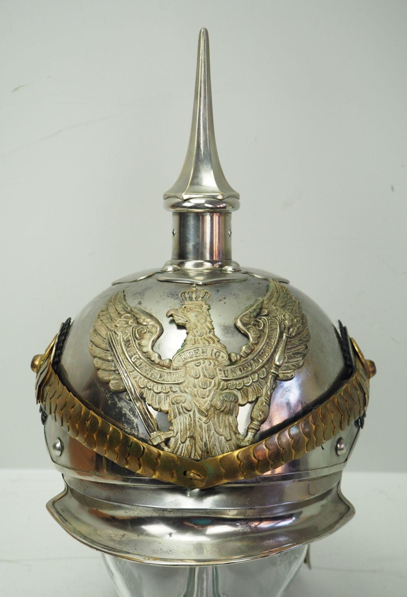 Preussen: Jäger-Regiment zu Pferde Nr. 1, 2, 3, 4 und 7, Helm für Offiziere. - Bild 2 aus 5
