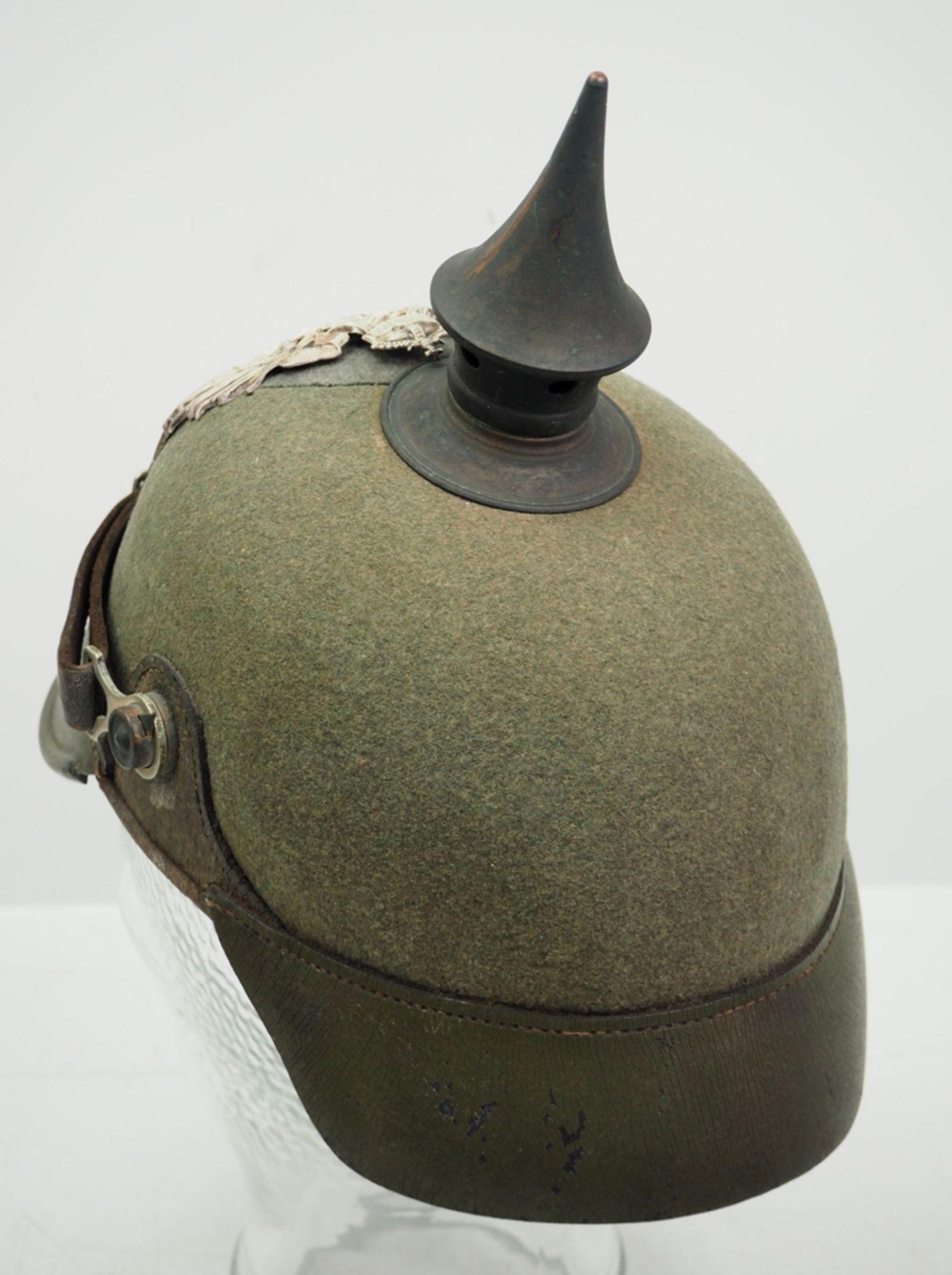 Preussen: Ostasiatisches Expeditionskorps, Helm für Mannschaften der Pioniere u - Bild 4 aus 5