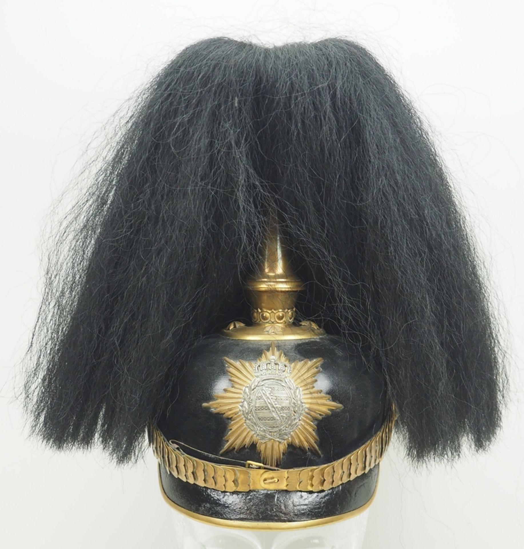 Sachsen: 2. Königlich Sächsisches Grenadier-Regiment Nr. 101, Helm für Offizier - Bild 2 aus 5