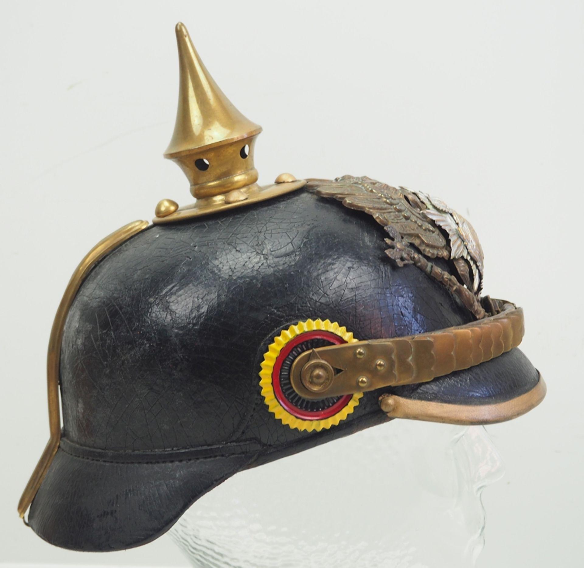 Reuss: 7. Thüringisches Infanterie-Regiment Nr. 96, II. Bataillon, Helm für Man - Bild 3 aus 5