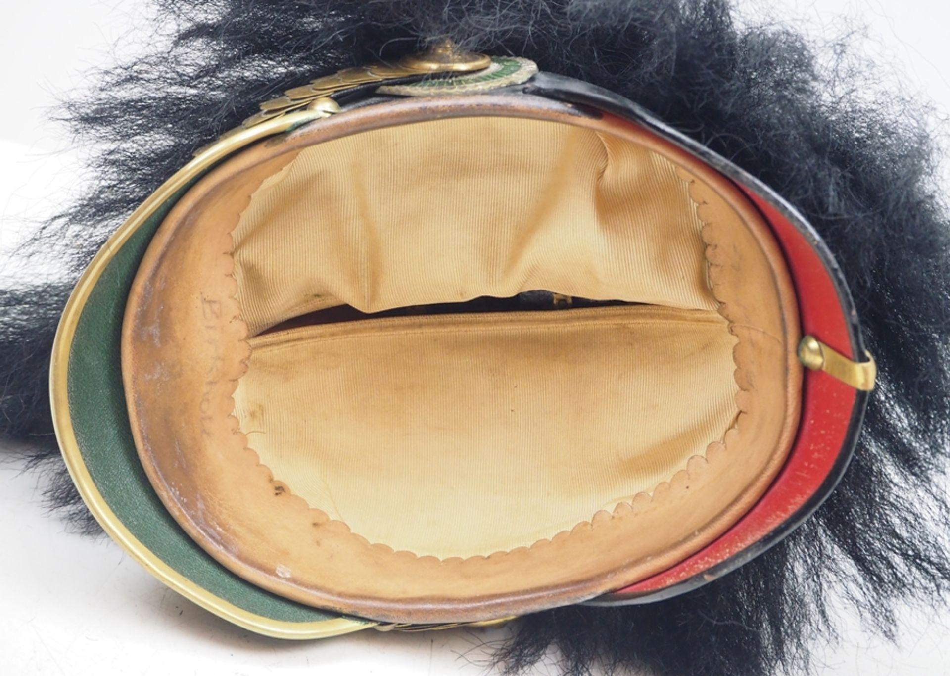 Sachsen: 2. Königlich Sächsisches Grenadier-Regiment Nr. 101, Helm für Offizier - Bild 5 aus 5