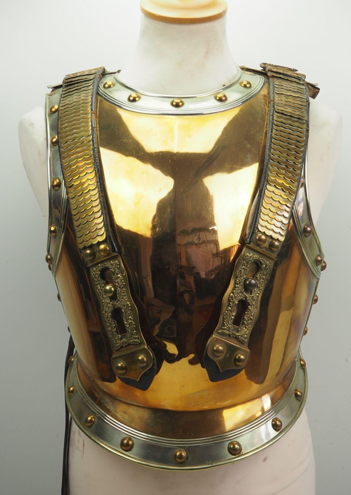 Preussen: Garde-Kürassier-Regiment, Parade-Kürass für Offiziere.