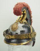 Sachsen: Gardereiter, Helm für Mannschaften Modell 1876.