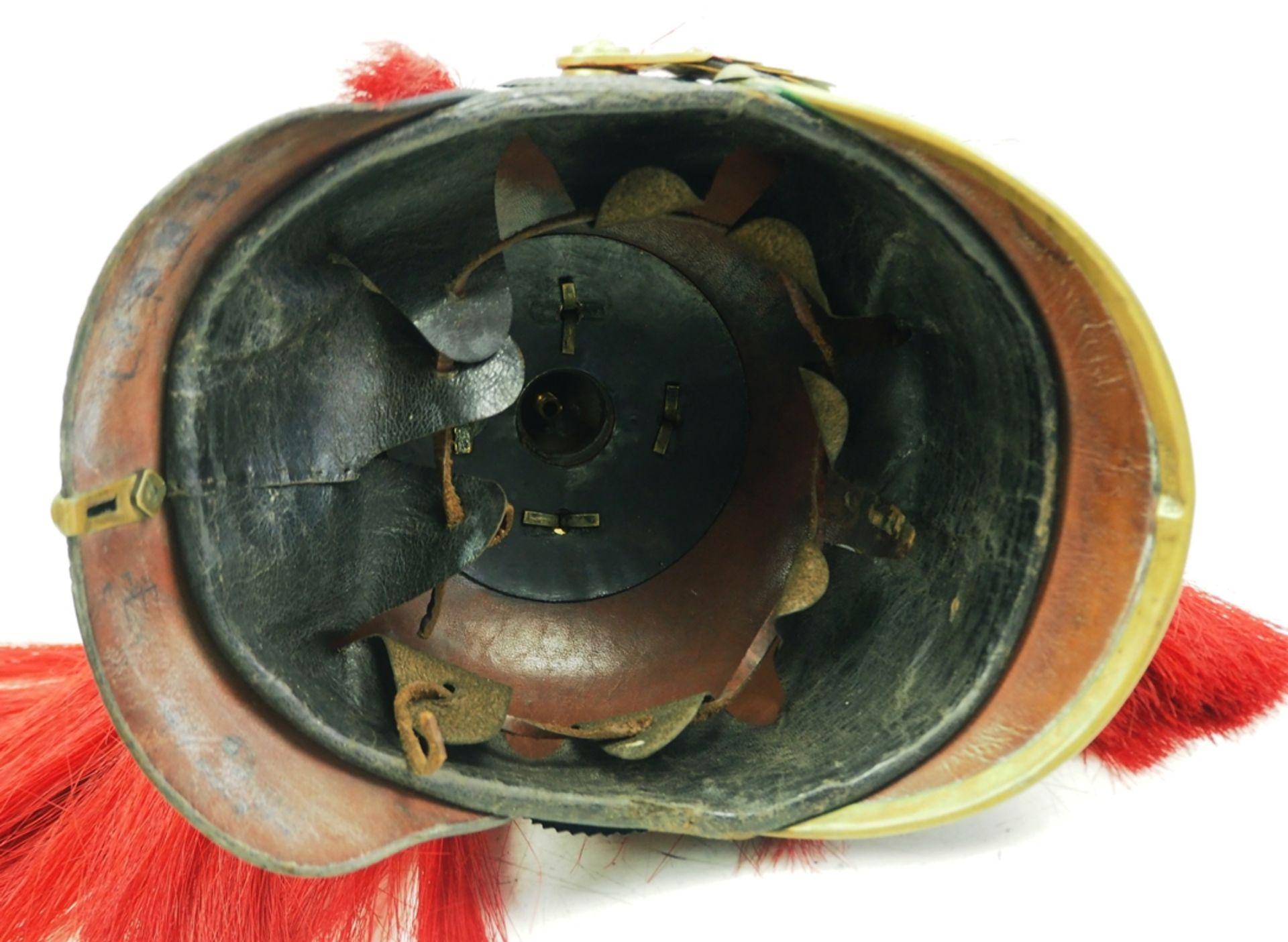 Preussen: Helm für Musiker der Garde-Grenadier-Regimenter mit Paradebusch - Kam - Bild 5 aus 6