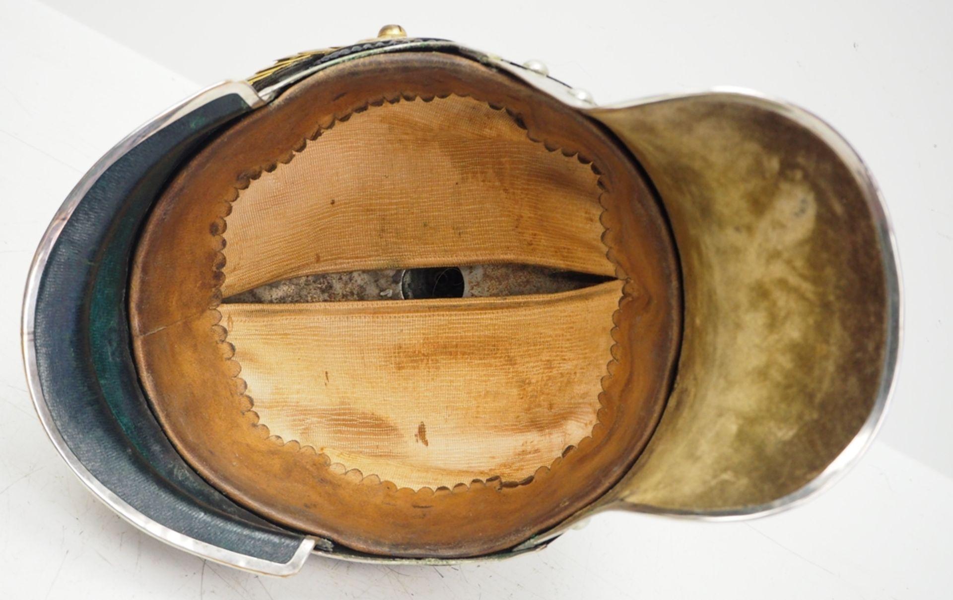 Preussen: Jäger-Regiment zu Pferde Nr. 1, 2, 3, 4 und 7, Helm für Offiziere. - Bild 5 aus 5