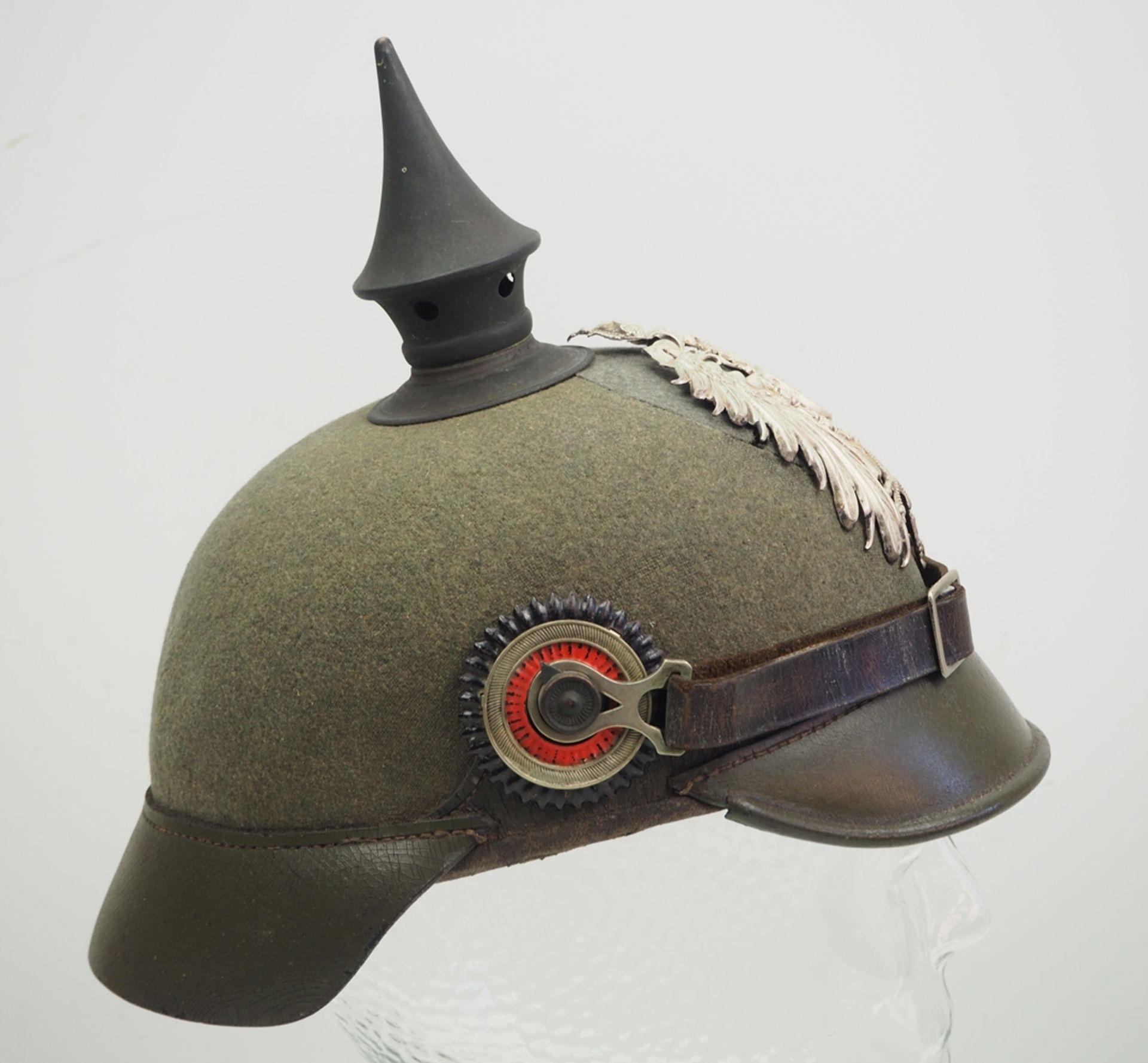 Preussen: Ostasiatisches Expeditionskorps, Helm für Mannschaften der Pioniere u - Bild 3 aus 5