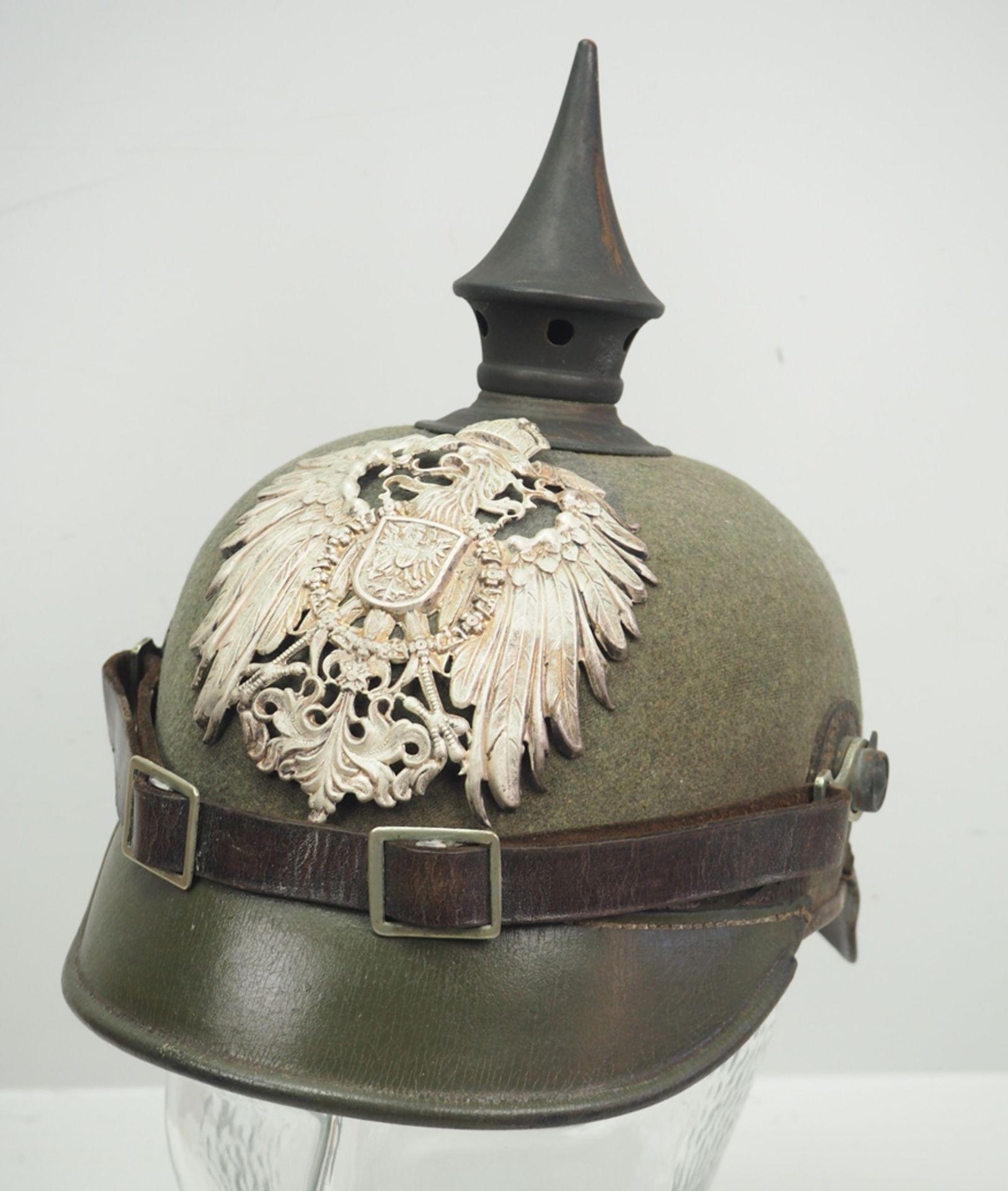 Preussen: Ostasiatisches Expeditionskorps, Helm für Mannschaften der Pioniere u