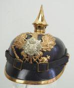 Anhalt: Anhaltisches Infanterie-Regiment Nr. 93, Helm für Mannschaften.