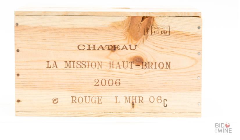 Lot 15 - 2006 La Mission Haut-Brion, 6 bottles of 75cl, OWC
