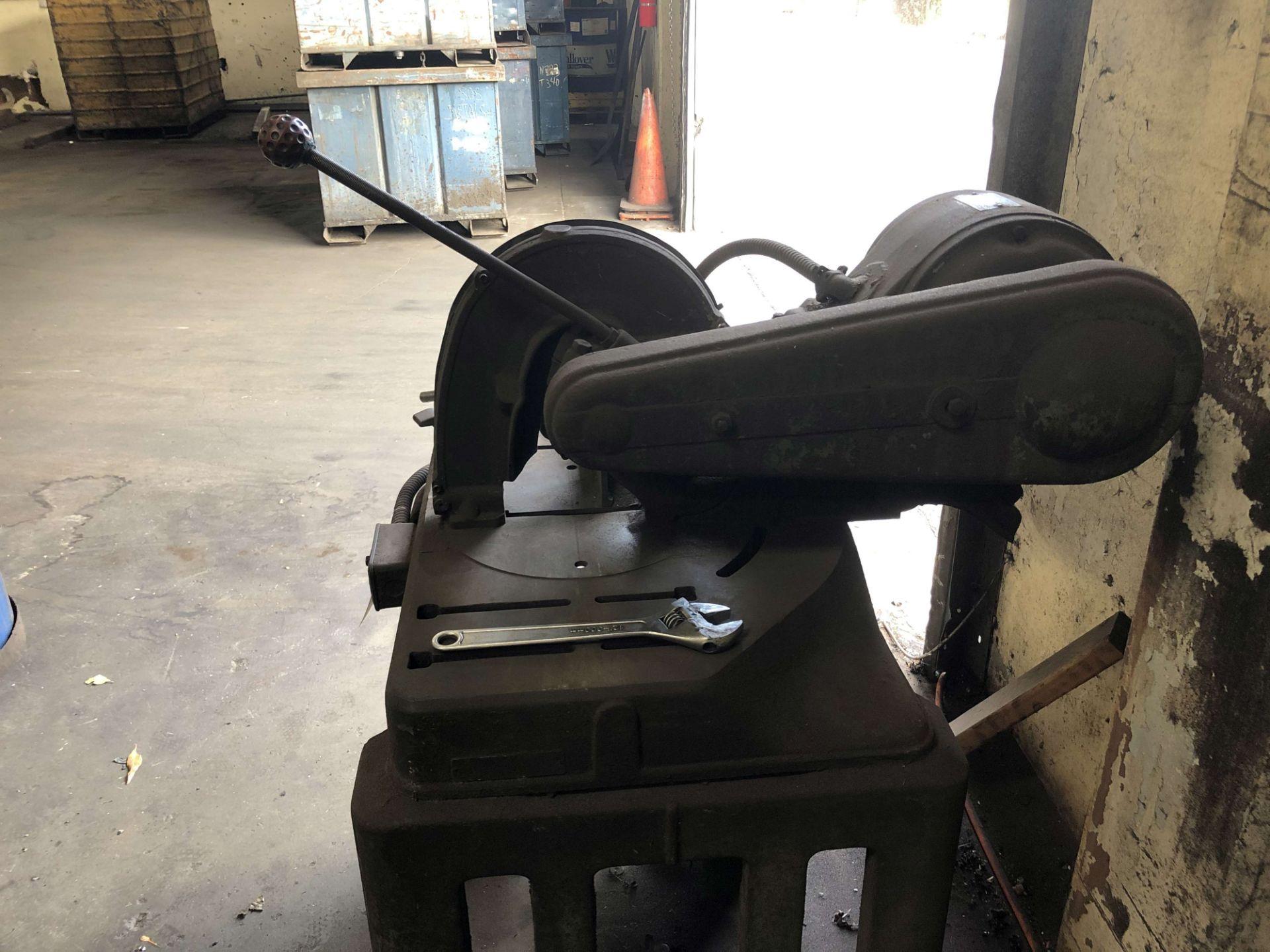 "Lot 47 - 10"" Cut-Off Saw, Sterling 3 HP Motor"