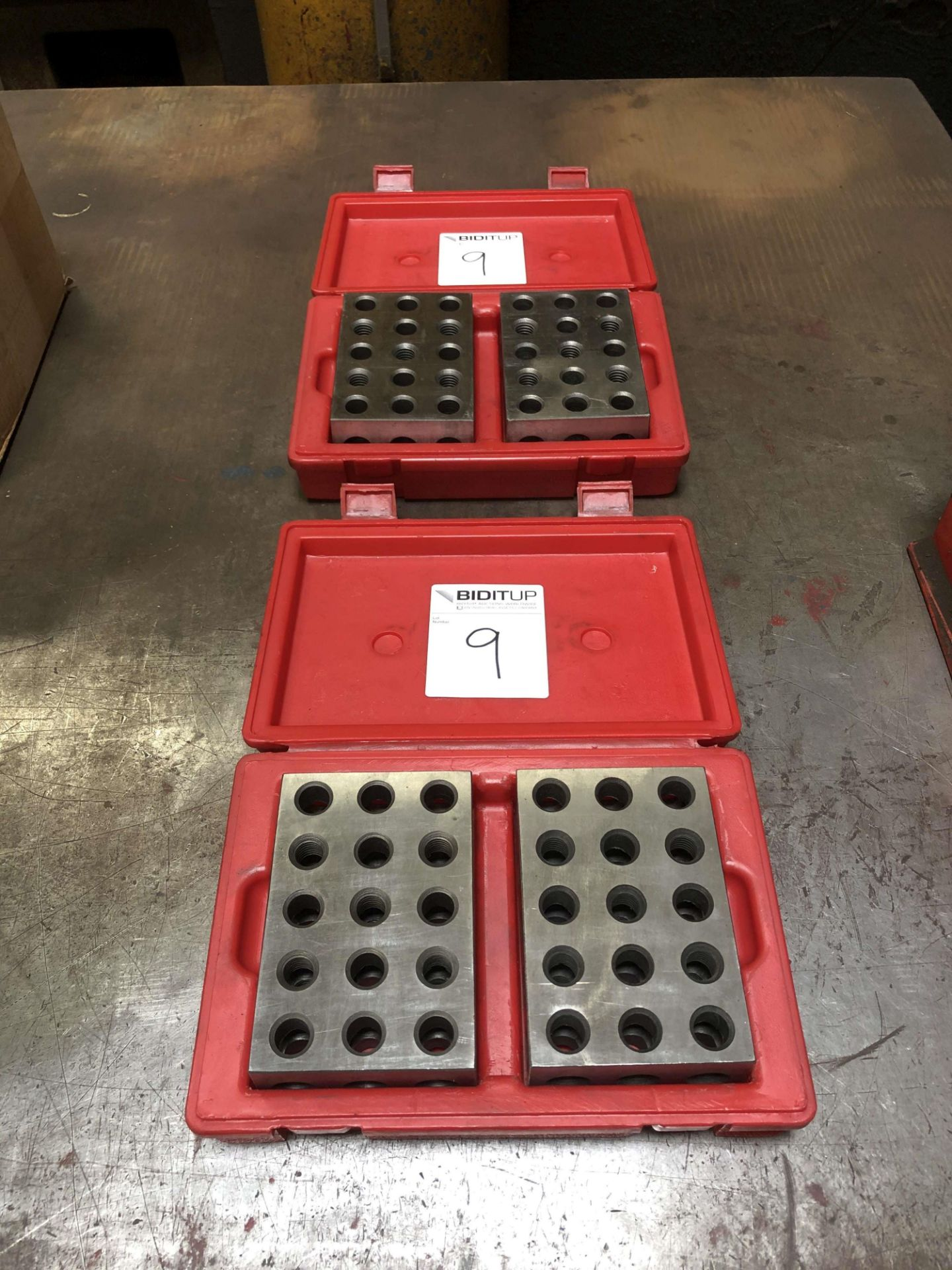 "Lot 9 - (4) SPI Setup Blocks (2"" x 4"" x 6"")"
