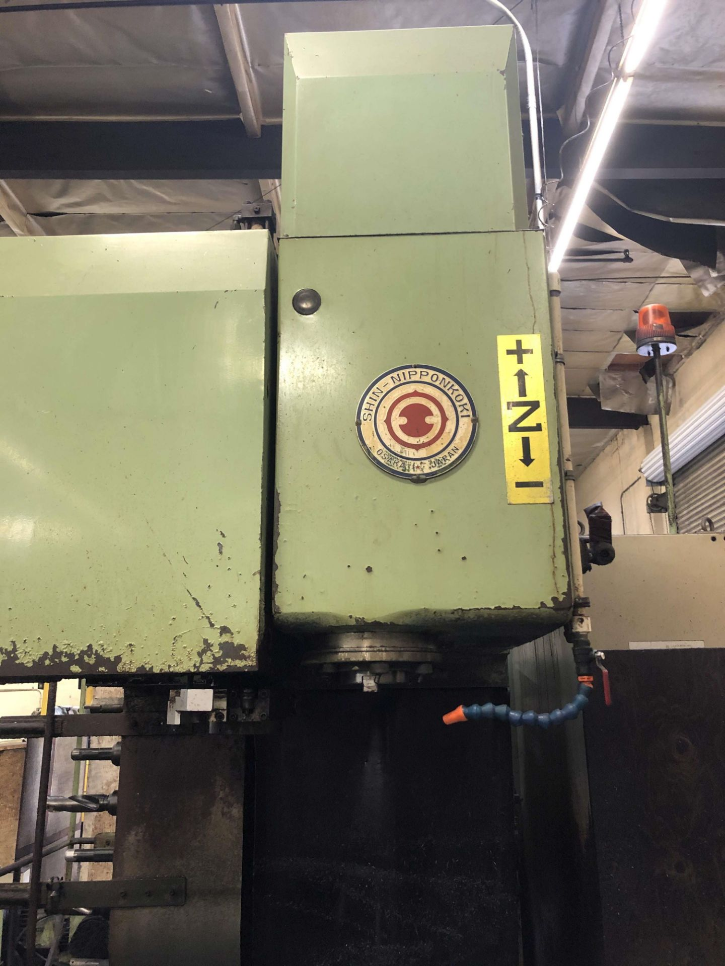 "Lot 41 - SNK FSP-70V Vertical Machining Center, 27-1/2"" x 60-1/2"" Table, 24 ATC, Fanuc 11M Control"