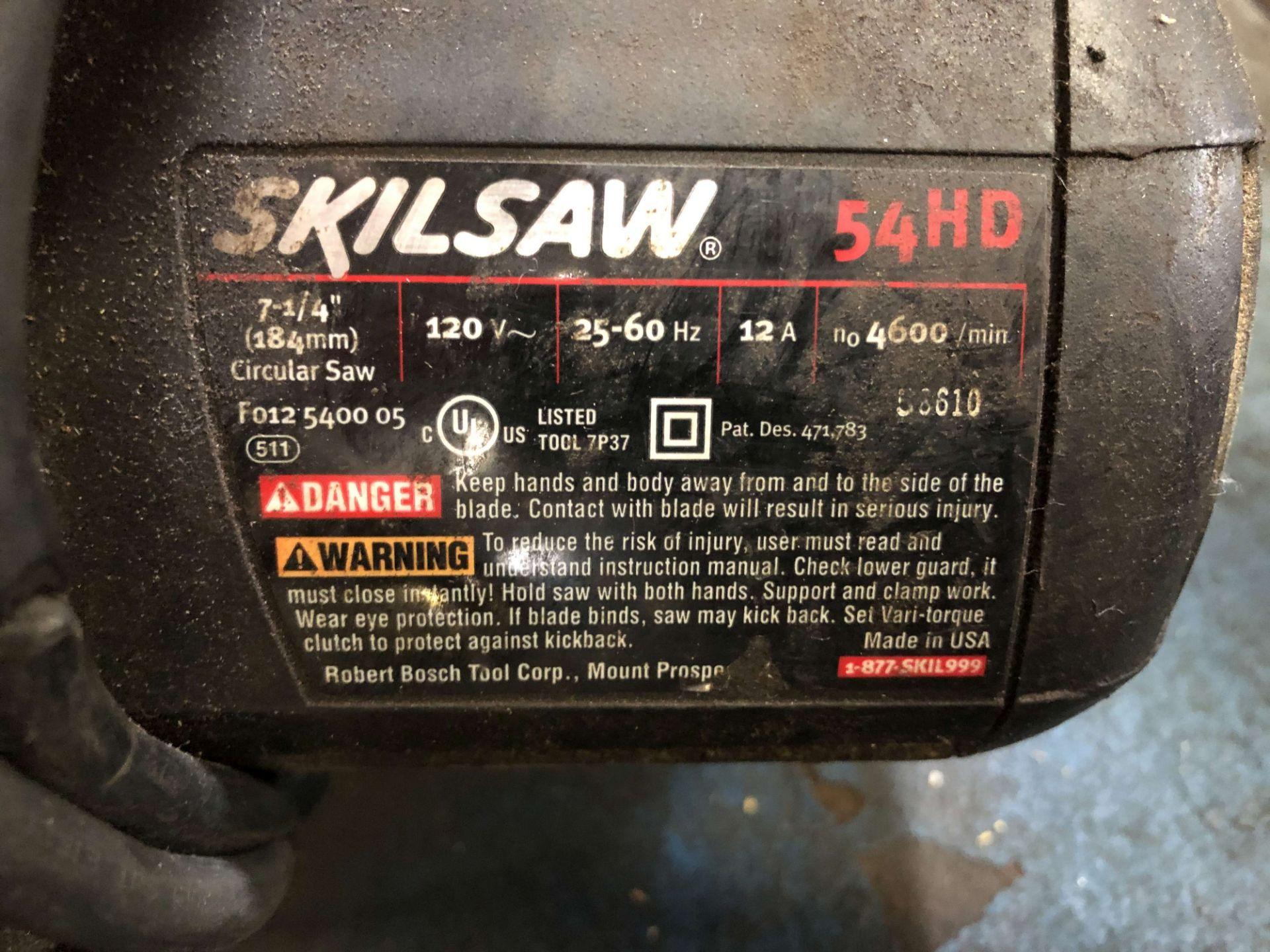 "Lot 13 - Skilsaw 7-1/4"" Circular Saw, Model 54HD"