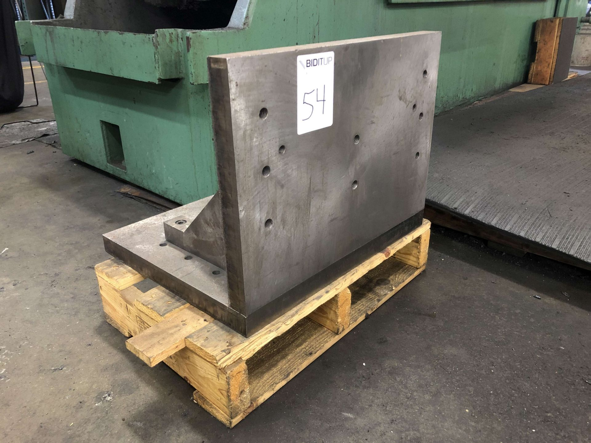"""Lot 54 - Angle Plate (20"""" W x 15-1/4"""" High Surface Size x 16"""" Front to Back)"""
