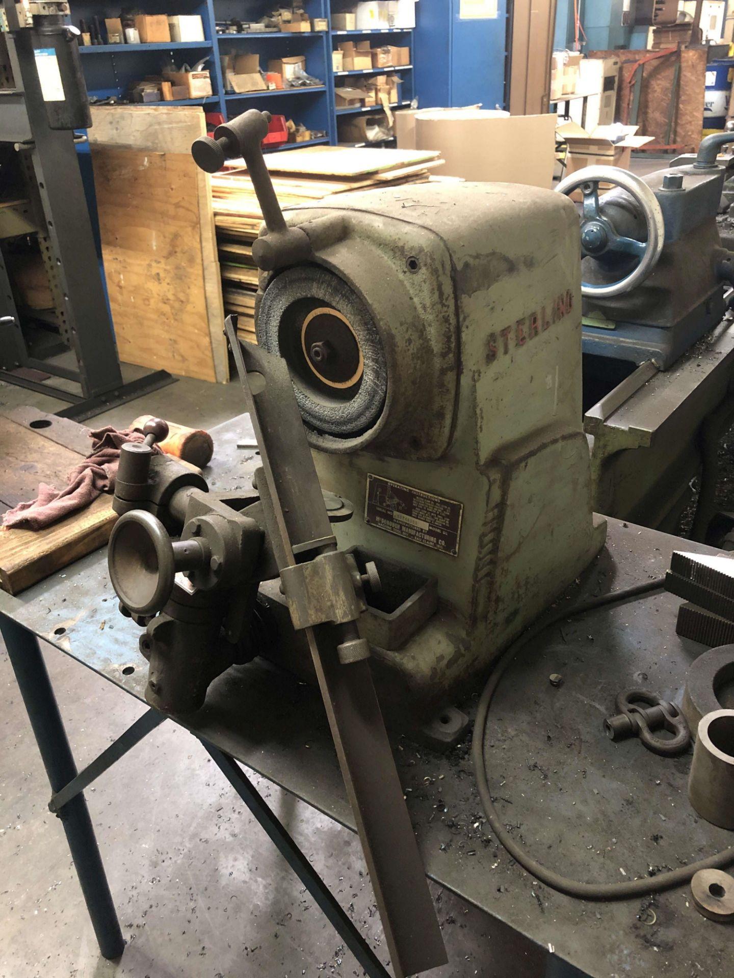 Lot 27 - Sterling Model DB Drill Grinder, S/N DG2465DB