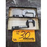 Browne & Sharpe (2) Micrometers