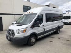 2015 Ford Transit 350HD XLT Passenger Van (High Roof), Odometer Read: 316,641 Miles on 5/30/2020,