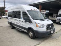 2016 Ford Transit 350HD XLT Passenger Van (High Roof), Odometer Read: 256,098 Miles on 5/30/2020,