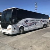 2014 Prevost H3-45 Charter Bus, 56 Seats, Volvo Engine, Allison Transmission, Odometer Read: 522,237