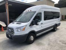 2016 Ford Transit 350HD XLT Passenger Van (High Roof), Odometer Read: 299,996 Miles on 5/30/2020,