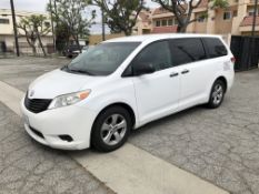 2014 Toyota Sienna L 7-Passenger Minivan, Odometer Read: 197,506 Miles on 5/12/2020, VIN:
