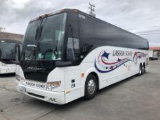2016 Prevost H3-45 Charter Bus, 56 Seats, Volvo Engine, Allison Transmission, Odometer Read: 362,615