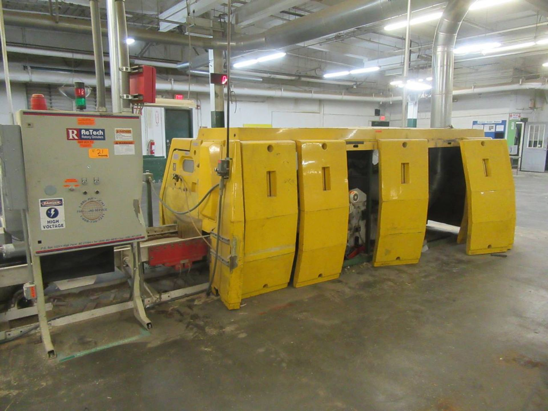 Lot 21 - 2003 Re Tech Grinder