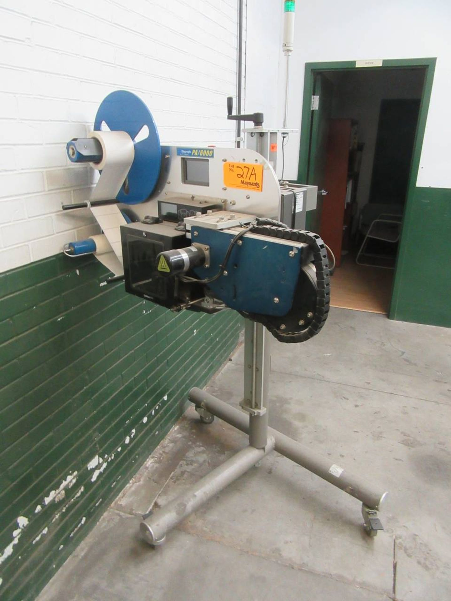Lot 27A - Diagraph PA/6000 Pallet Labeler