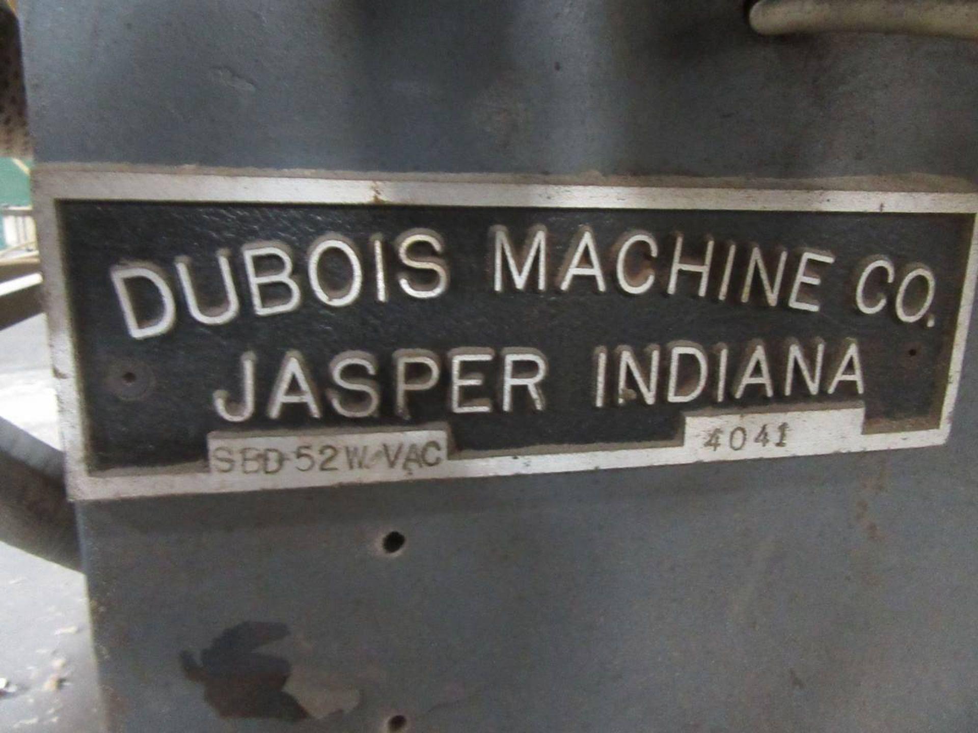 Lot 34 - Dubois SBD-52-W VAC Denibber