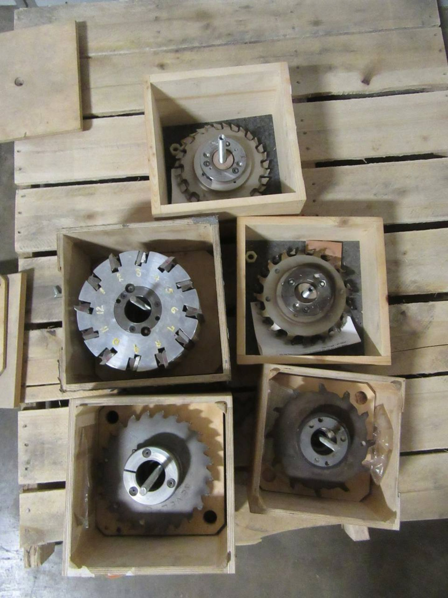 Lot 12 - Lot of Tooling for Moulders