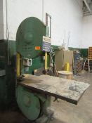 Tennewitz GHS Vertical Band Saw